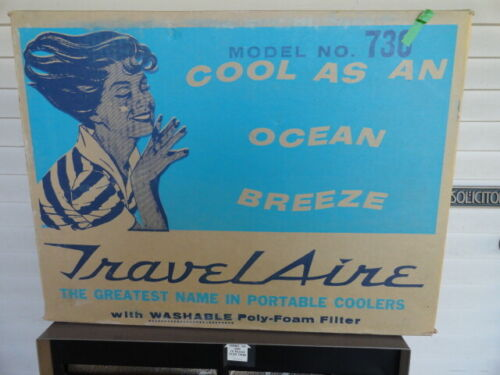 Vintage McGraw Edison Travel Aire Portable Water Air Cooler Model #  736