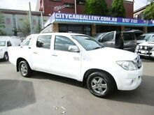 2011 Toyota Hilux GGN15R MY11 Upgrade SR5 White 5 Speed Automatic Dual Cab Pick-up Bankstown Bankstown Area Preview