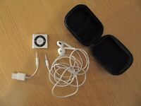 Apple iPod shuffle 4th Generation (Late 2012) Silver (2GB) (Latest Model)