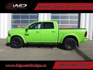 2017 RAM 1500 SUBLIME GREEN SPORT PACKAGE CREW CAB