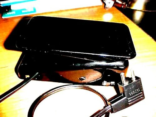 Singer 401, 404 Foot Pedal & Cord #197628. Also fits Many Other Singer Models