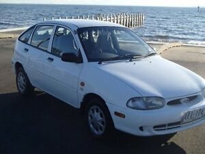 2000 Ford Festiva WF Trio Yellow 3 Speed Automatic Hatchback Gardenvale Glen Eira Area Preview