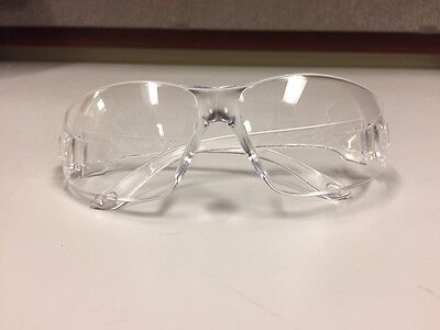 Radnor Clear Safety Glasses- Box Of 12- Scratch Resistant Lens