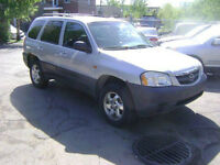 2002 Mazda Tribute DX SUV, Crossover