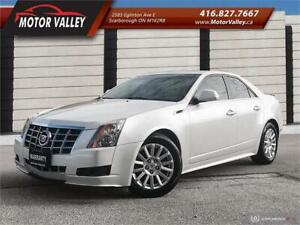 2013 Cadillac CTS 3.0L AWD Navigation No Accident Mint!