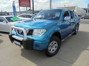 2007 Nissan Navara D40 ST-X Blue 6 Speed Manual 4D Utility Holroyd Parramatta Area Preview