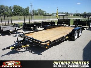 2015 Big Tex 70CH-18 ft car trailer