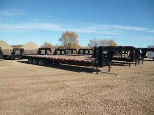 >>---->SWS 40Ft Tridem Dual Gooseneck, Tax In & Out The Door