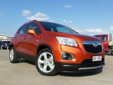 2014 Holden Trax TJ LTZ Orange Rock 6 Speed Automatic Wagon Garbutt Townsville City Preview