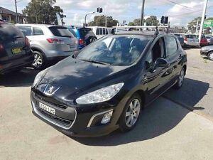 2011 Peugeot 308 Access Black 5 Speed Manual Hatchback Greenacre Bankstown Area Preview
