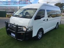 2012 Toyota Hiace KDH223R MY12 Upgrade Commuter White 5 Speed Manual Bus Maddington Gosnells Area Preview