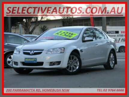 2012 Holden Berlina VE II MY12 White 6 Speed Automatic Sedan Homebush Strathfield Area Preview