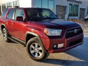 2011 Toyota 4Runner SR5 V6 Leather Heated Seats, Power Moonroof