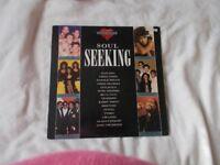 Vinyl LP Soul Seeking - Various Artists Knight KNLP 12008 Stereo 1989