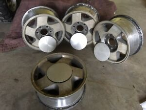"GMC or Chevy Alloy Truck Rims For Sale 1988 - 2006 16"" x 6 bolt"