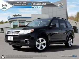 2011 Subaru Forester X Limited - SELF CERTIFY - BLACK LEATHER