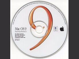 Mac OS 9 installation disk