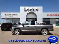 2008 DODGE RAM 1500 - LOW KM LEATHER SUNROOF and APPROVED TODAY!