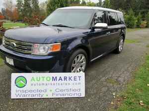 2011 Ford Flex Limited, AWD, Roof, Insp, Warr