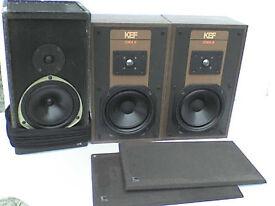 50W KEF Stereo Speakers + a FREE KEF Celeste Speaker