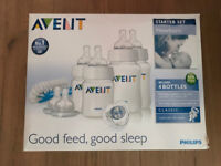Avent Classic New-born Starter Set, RRP £30, Boxed as New, Bargain £10