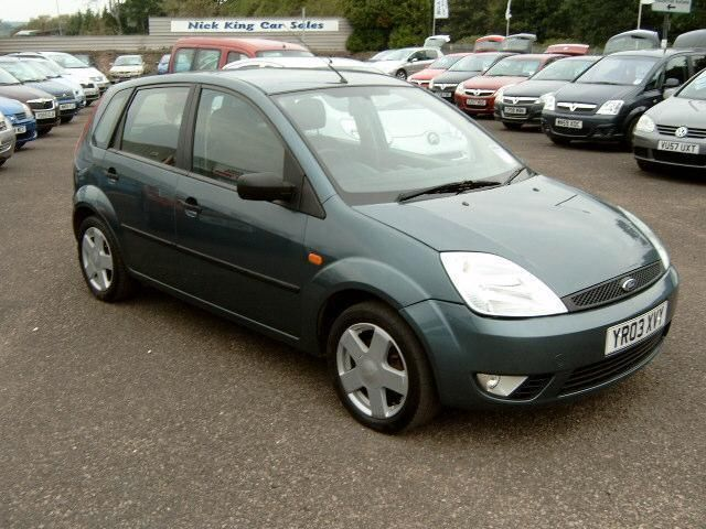 2003 ford fiesta 1 4 zetec in gloucester gloucestershire gumtree. Black Bedroom Furniture Sets. Home Design Ideas