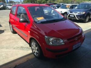 2002 Hyundai Getz TB FX 5 Speed Manual Hatchback St James Victoria Park Area Preview