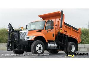 2005 INTERNATIONAL 7400 DÉNEIGEUSE / SNOW PLOW FOR SALE