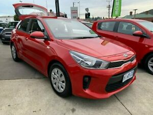 2017 Kia Rio YB MY18 S Red 4 Speed Sports Automatic Hatchback North Hobart Hobart City Preview