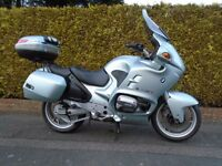 BMW R1100 RT '98/R WITH VERY LOW MILEAGE!!!