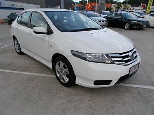 2012 Honda City GM MY12 VTi White 5 Speed Automatic Sedan Buderim Maroochydore Area Preview