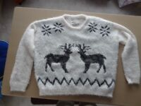 Two ladies large size jumpers