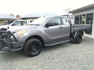 2012 Mazda BT-50 XT (4x4) Silver 6 Speed Manual Gloucester Gloucester Area Preview