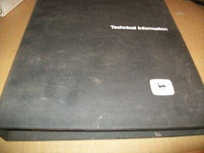 Originaljohn Deere Walk Behind Tiller5b Spayertechnical Manualdealer Binder