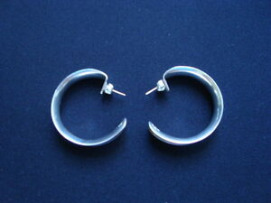 WOMANS STERLING SILVER EARRINGS .925 West Island Greater Montréal image 2