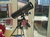 Celestron Astro master 130eq telescope