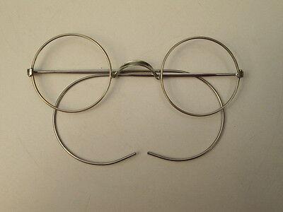Antike Nickelbrille aus Nachlass ungebraucht