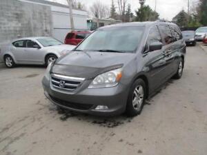 2007 Honda Odyssey EX-L--Rear Entertainment System