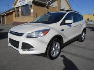2013 FORD Escape SE 4WD 2.0L EcoBoost Leather Navi ONLY 38,000Km