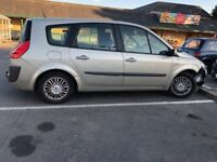 Reanult Scenic o7 Reg, For Repairs, Needs New Bumber & Boot door