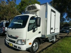 2012 Hino 300 616 Car Licence White Refrigerated Truck 4.0l 4x2 Homebush West Strathfield Area Preview