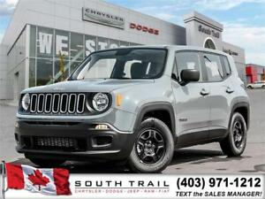 2018 Jeep Renegade Sport MUST GO ONLY $80/wk!