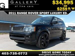 2011 Land Rover Range Rover $259 bi-weekly APPLY NOW DRIVE NOW