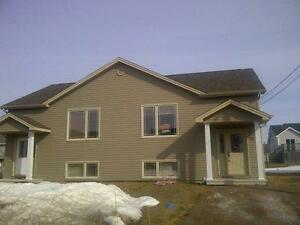 Duplex built in 2010 - large kitchen ( available July 1 )