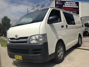 2006 Toyota Hiace KDH221R MY07 SLWB White 5 Speed Manual Van St Marys Penrith Area Preview