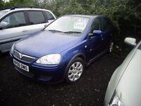 2006 Vauxhall Corsa 1.4 Design 5 Door MOT'd April 17 £695