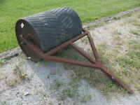 tow behind lawn roller