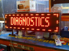 BLAZING DIGITAL SIGN DOUBLE SIDED COST £1945 NEW