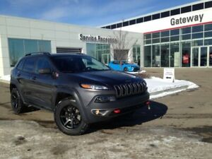 2017 Jeep Cherokee Trail Hawk Plus Leather, Cargo Liner, Power L