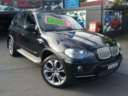 2008 BMW X5 E70 SD Steptronic Black 6 Speed Sports Automatic Wagon